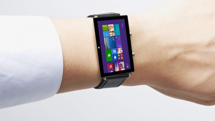 Here is Microsoft's Smart Watch with Windows 8
